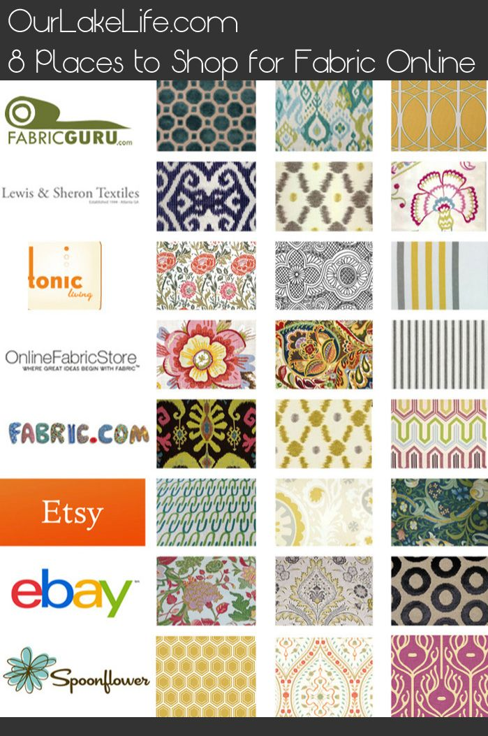 Merveilleux 8 Fantastic Places To Buy Fabric Online