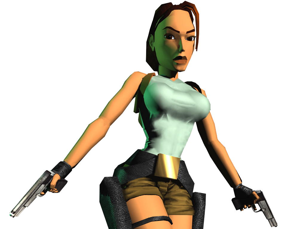 Lara Croft Tomb Raider With Guns Png Image Lara Croft Cosplay Tomb Raider Lara Croft