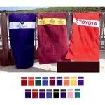 Custom Beach Towels are a favorite for Class Fundraisers from http://www.schoolspiritstore.com/whats-hot/