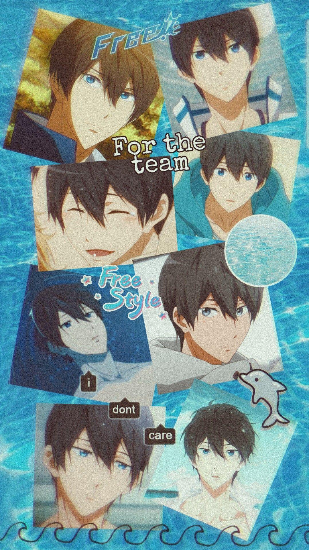 Haruka Nanase Free Background Anime Free Anime Anime Background Free iwatobi anime wallpaper