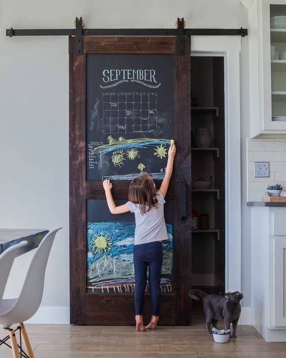 5 Extremely Cool Pantries with Barn Doors