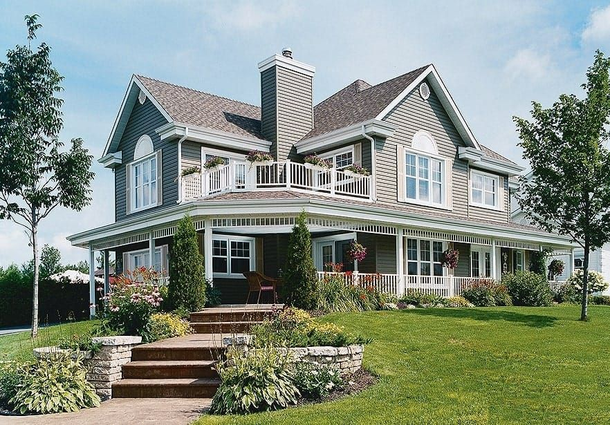 Country Home Plan 3 Bedrms 2 5 Baths 2350 Sq Ft 126 1286