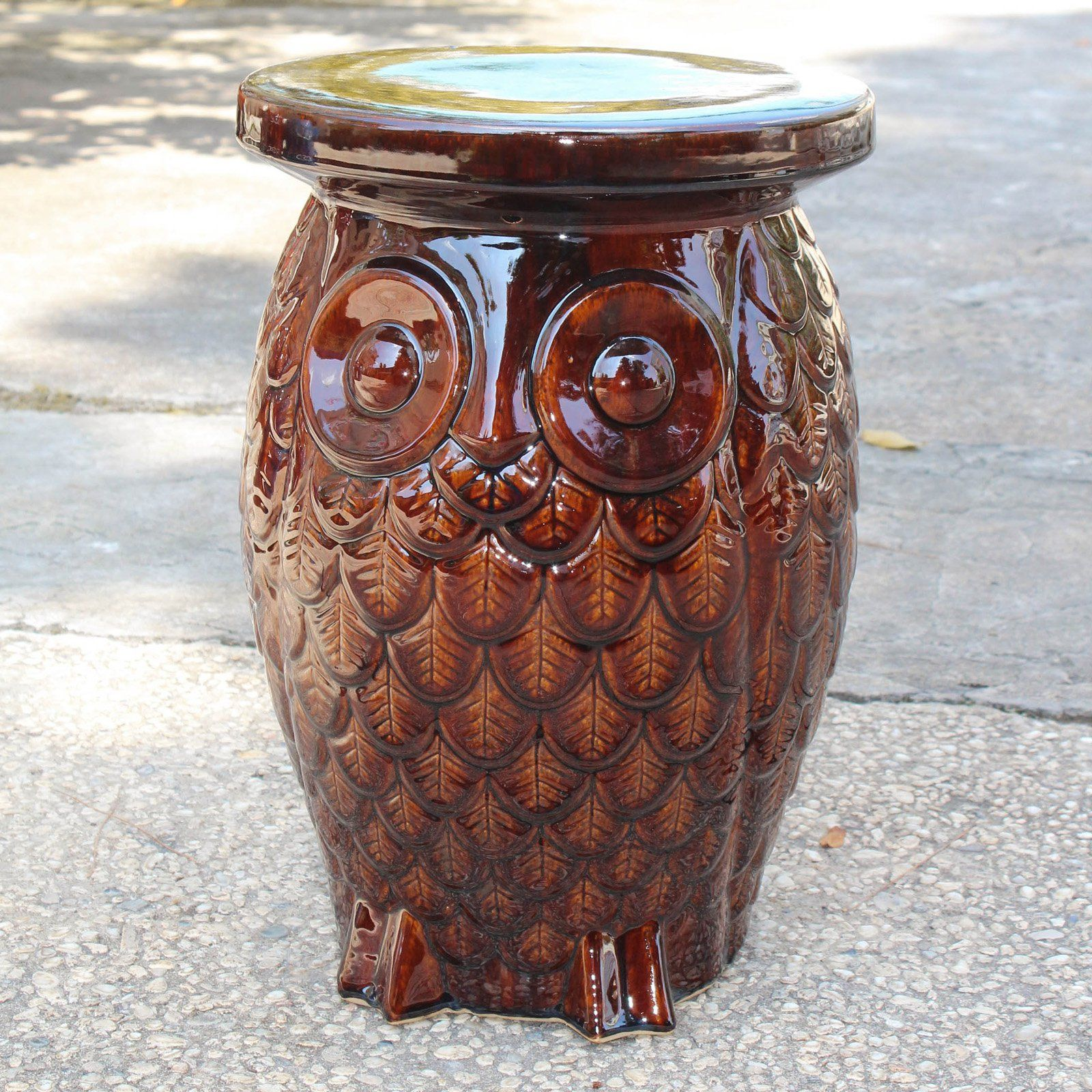 Outdoor International Caravan Catalina Wise Owl Ceramic