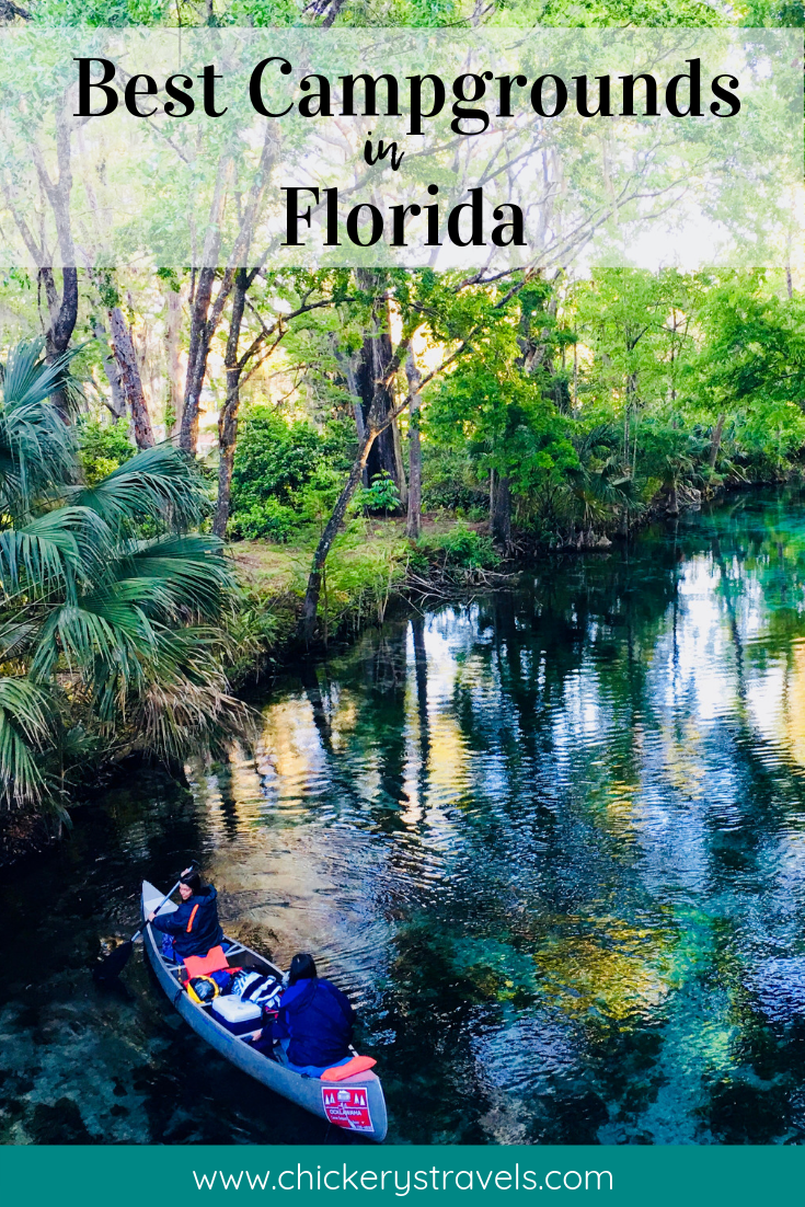 Best Campgrounds in Florida - Chickery's Travels
