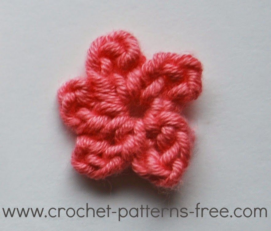 Small Crochet Flower Patterns Free Crochet Patterns Crochet