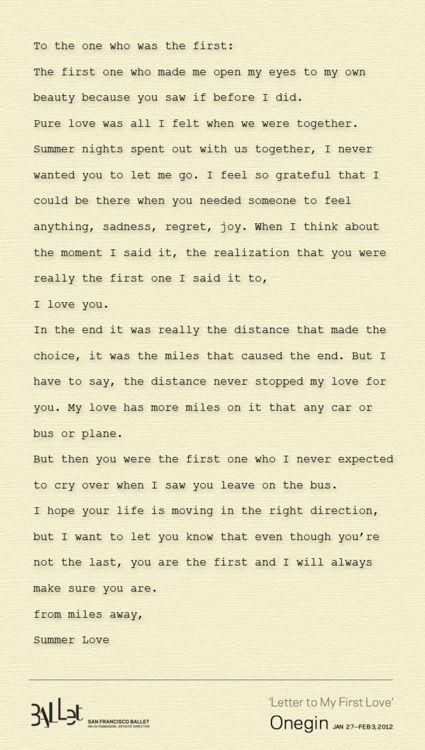 First Love Letter  Quotes     KesSydmeni Ja Etisyys