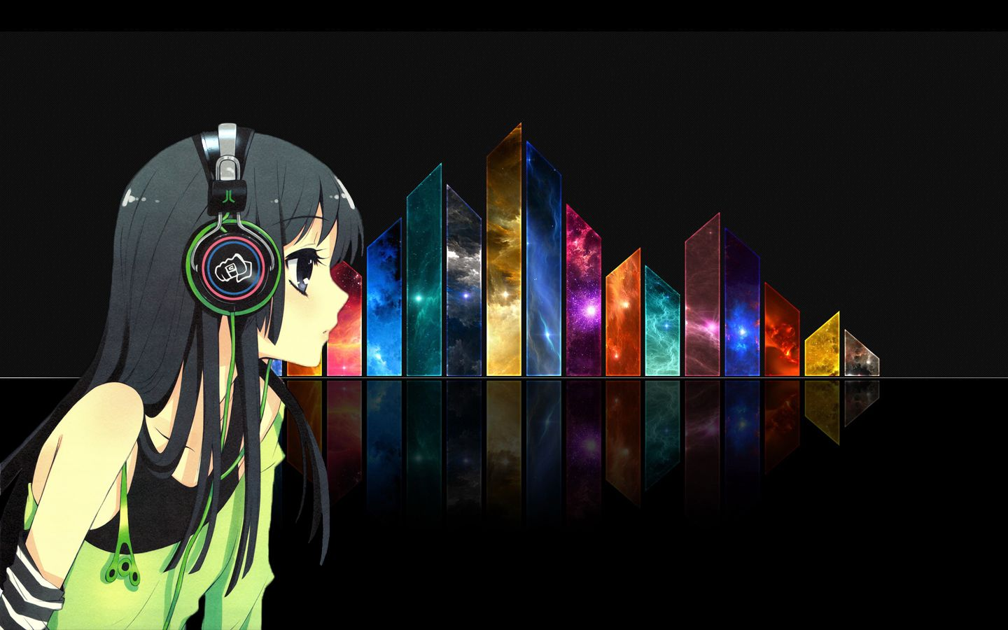 nightcore Abstract wallpaper backgrounds, Abstract wallpaper