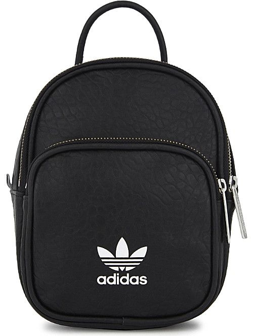 afaa1be5242 ADIDAS ORIGINALS Mini faux-leather backpack | Bags in 2019 | Adidas ...