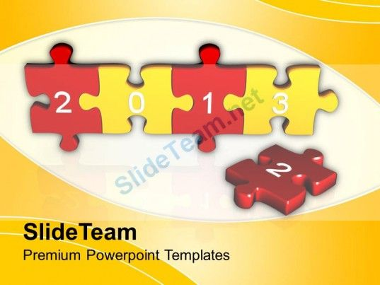 Jigsaw Puzzle Pieces Powerpoint Templates Ppt Themes And