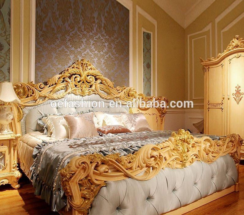 OE-FASHION antique bedroom design classic furniture luxury ...