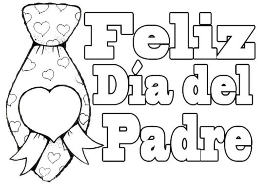 Resultado de imagen para tarjetas para papa para colorear | Salud ...