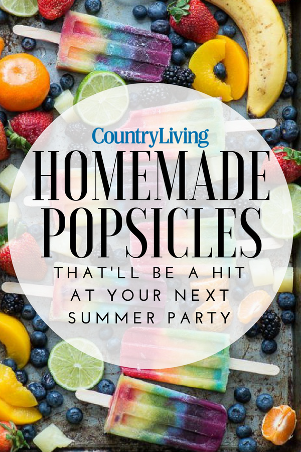 34 Homemade Popsicle Recipes That Are Ridiculously Refreshing #homemadepopsicleshealthy