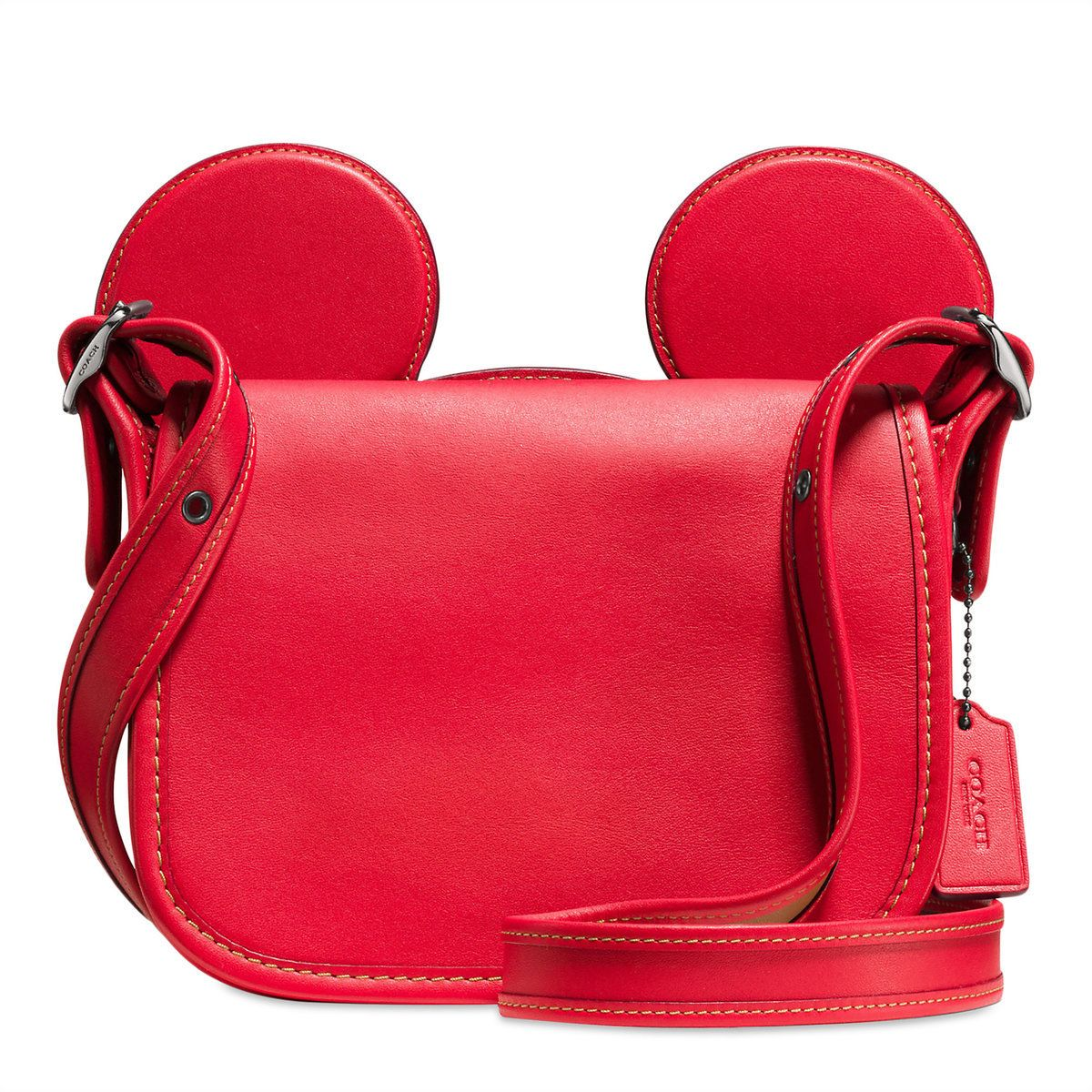 Leather Accent Tag - RED HEART by VIDA VIDA Cheap New Official Sale Online Popular Cheap Price el0obo