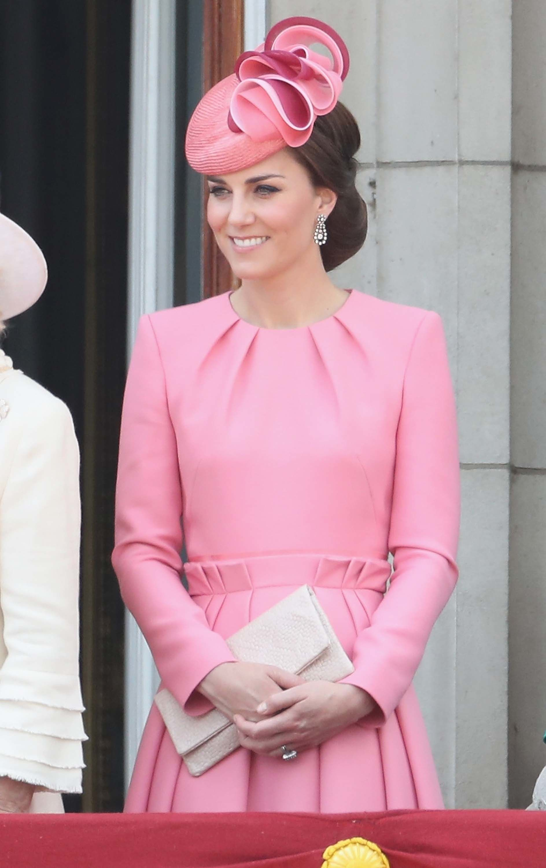 Kate Middleton in Alexander McQueen for the Trooping the Color ...