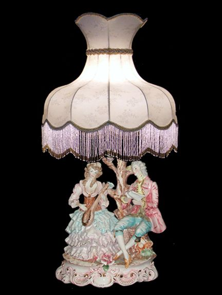 Antique Lamps Stained Glass, Antique Lamps Made In Italy