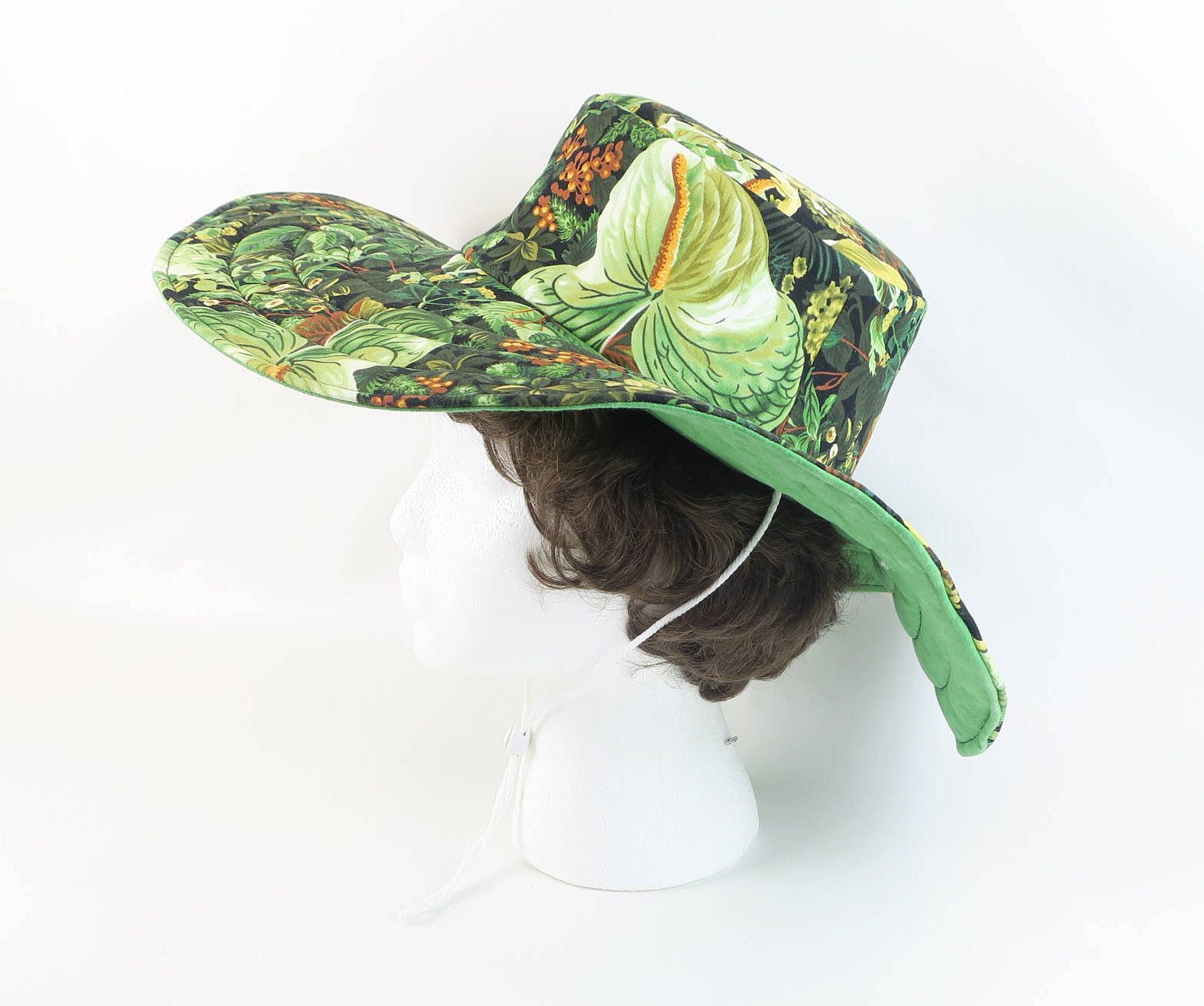 b94e9b533d3b1 Handmade Floral Hat