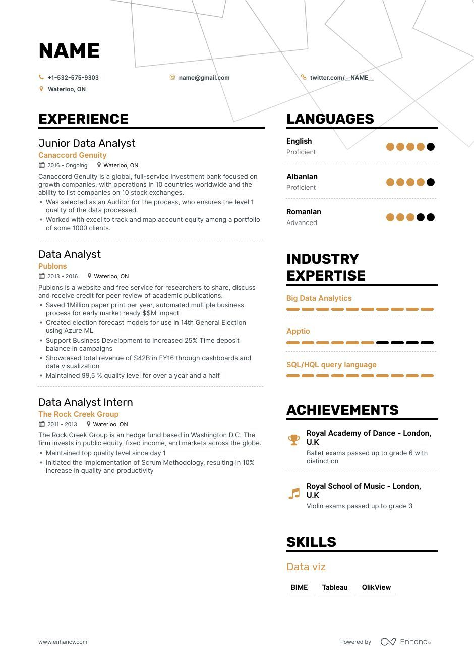 8 Security Analyst Resume Examples For 2019 Resume Examples Resume Analyst
