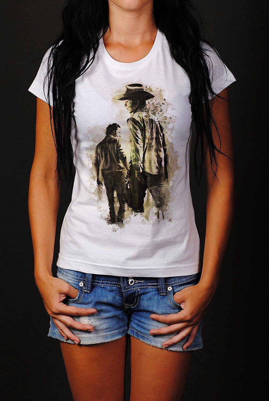 The Walking Dead Premium Damen T Shirt Motiv aus Paul Sinus Aquarell ...