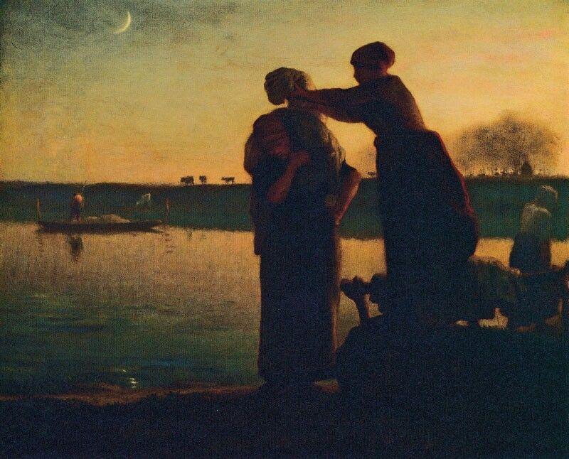 Jean Francois Millet washerwomen 1855approx