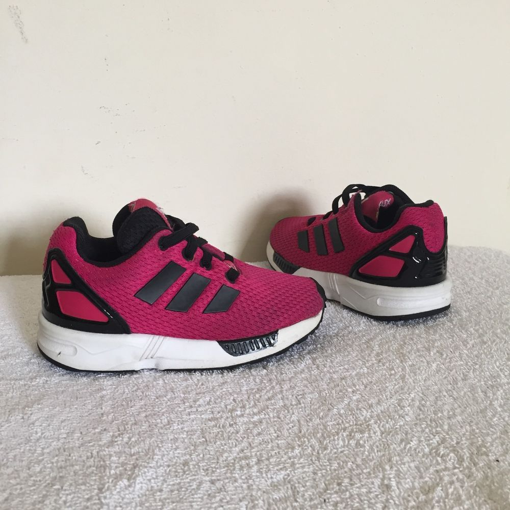 Girl's ADIDAS Torsion Trainers Pink UK Size 7 Kids | eBay