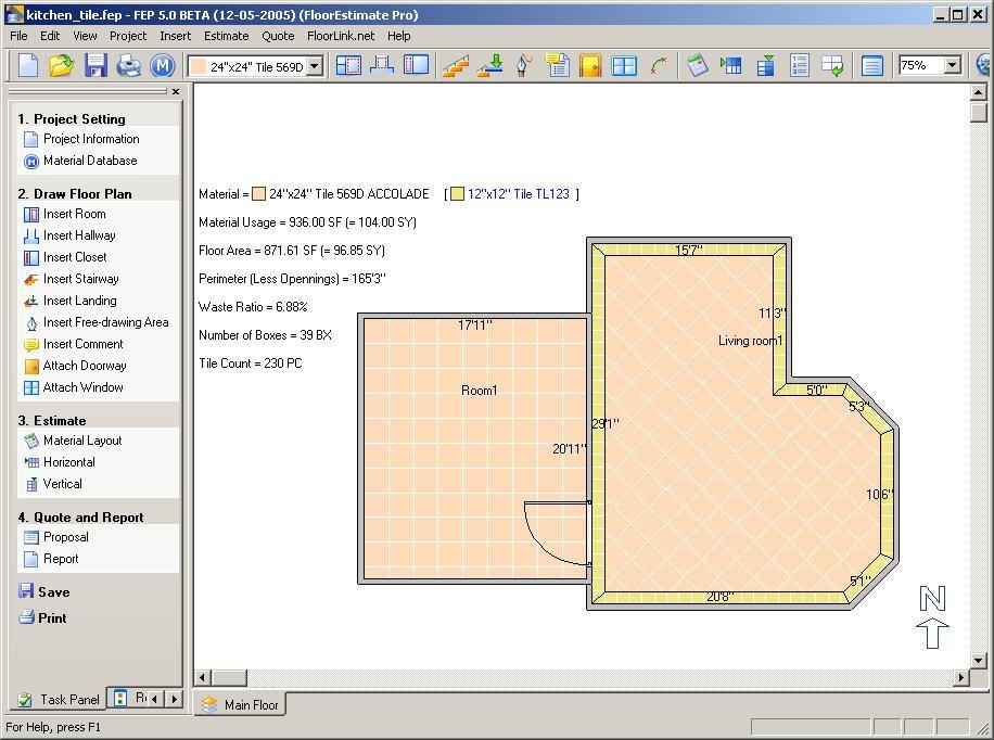 bathroom tiles design software