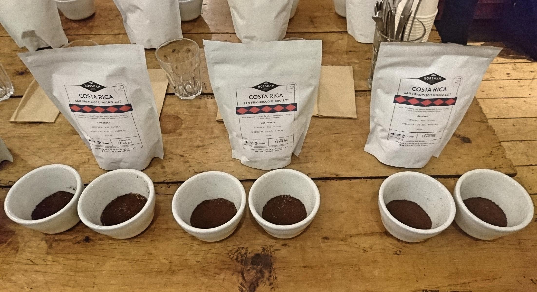 Horsham Coffee Roaster Tasting Session Food Experiments