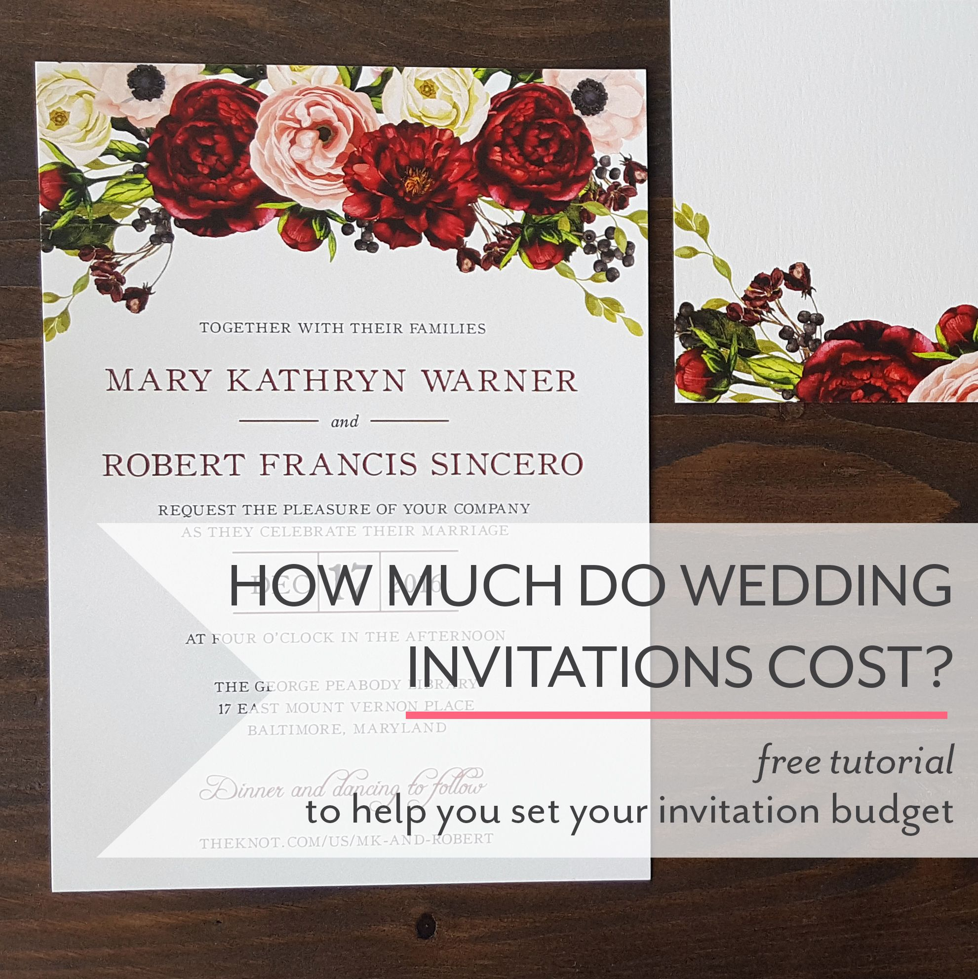The ultimate guide to figuring out how much your wedding invitations ...