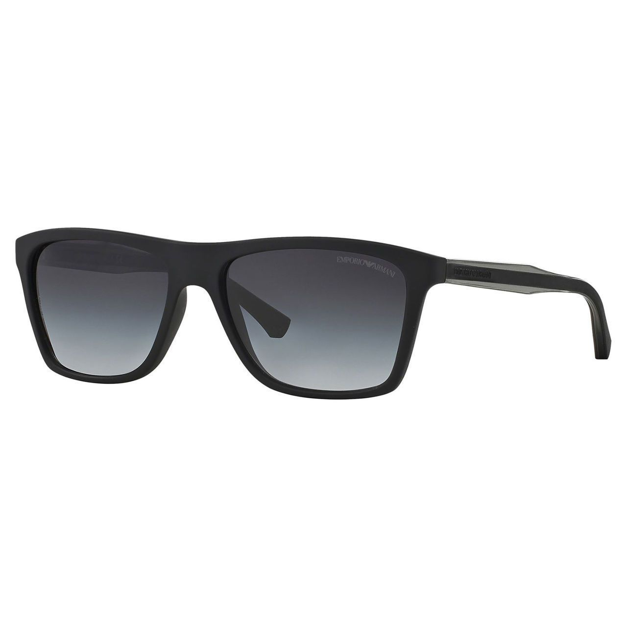 Impress others with your stylish sensibility when you wear these Emporio  Armani sunglasses for men. The sleek black and grey c… b9b1bc6c2e64