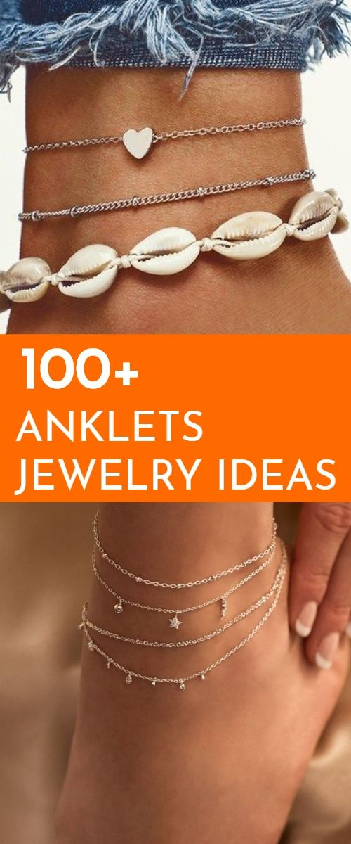 Photo of #anklets #jewelry seashell Check out mega collection of Stunning Anklets that ar…
