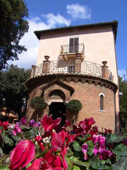 Rome Villa Lais exterior civil wedding Civil wedding