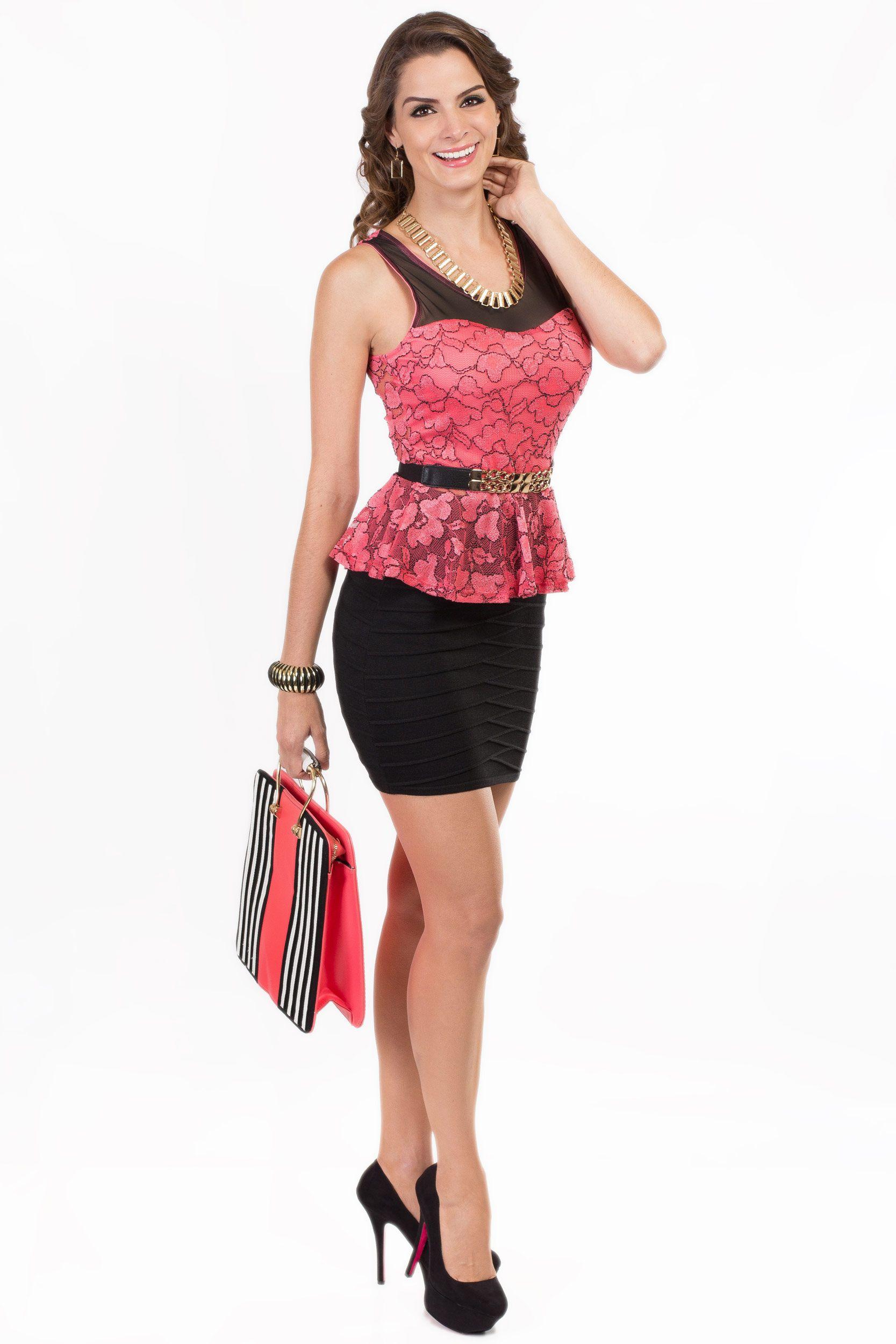 Hermosa y elegante en todo momento falda negra for Zapateros elegantes