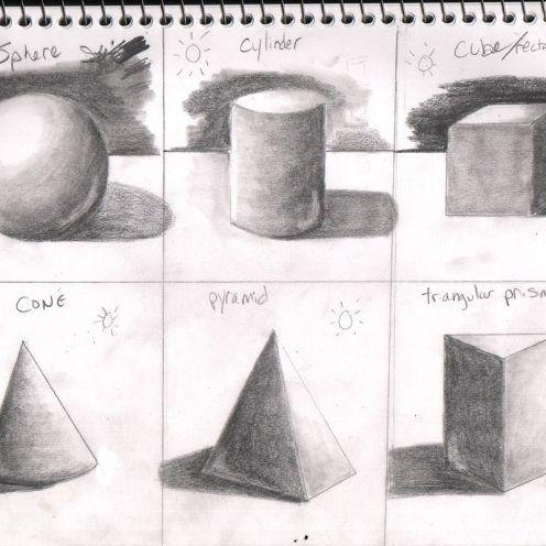 Geometric Shape Shading