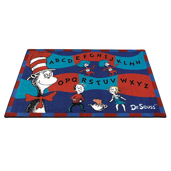 Dr Seuss Cat In The Hat Carpet Seuss Classroom Dr Seuss