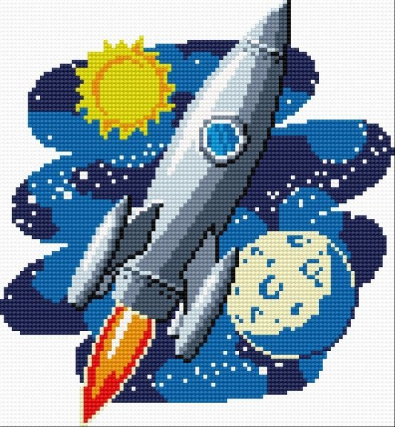 Outer space perler the best of perler hamma bead designs for Outer space pattern