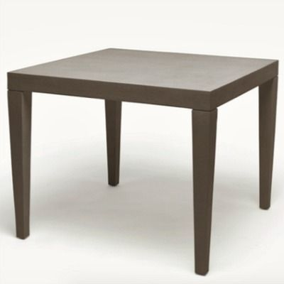 Gather Around The Sophisticated Square Sorin Table From Made Good And Let Begin This High States Winner Is Supported By Elegantly Tapered
