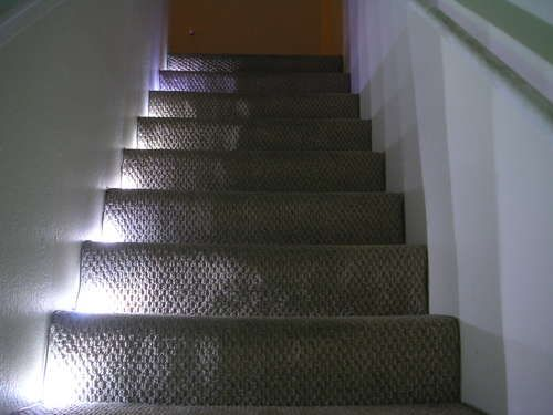 Stairway Led Lighting With Ir Trip Sensor For The Next