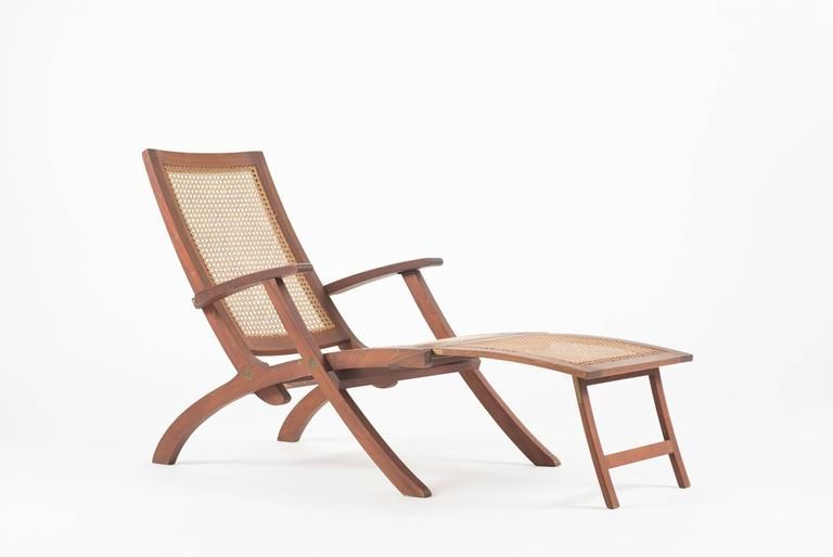 Kaare Klint Deck Chair In Teak For Rud Rasmussen 5 Vintage Lounge Chair Deck Chairs Outdoor Chairs
