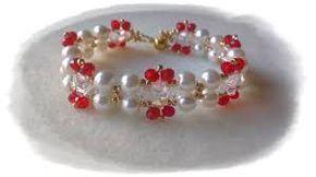 Resultado de imagen para como hacer pulseras de perlas de colores