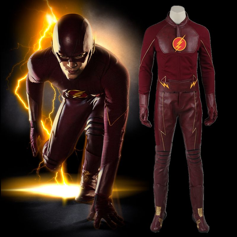 The flash adult costume custom