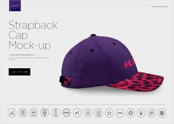 search 100 free psd cap mockups mytemplatedesigns com pinterest
