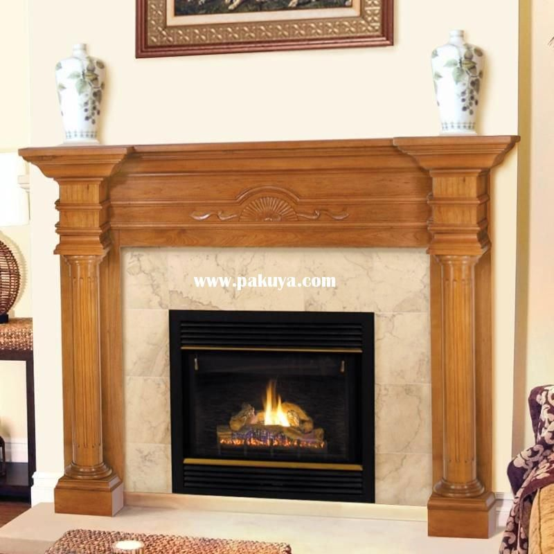 craftsman wood fireplace mantels - Google Search Fireplace Mantles