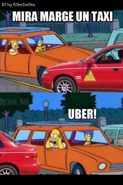 Memes La Otra Cara De La Manifestacion De Taxistas Crhoy Com Taxista Memes Caras