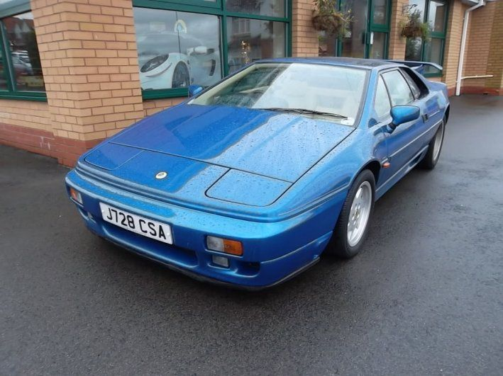 Lotus Esprit GBP Lotus Esprit SE High Wing - Sports cars 80 000