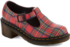 A Tartan Idea, I would not have thought about. Dr. Martens I Beg Your Tartan Heel - 30% off, now $83.99 @ #ModCloth  #Dr.Martens
