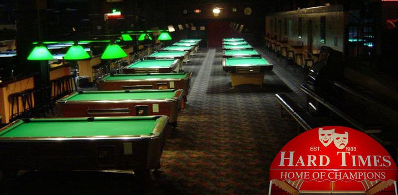 Hard Time Billiards Is A Laid Back Old School Pool Hall Located At - Old school pool table
