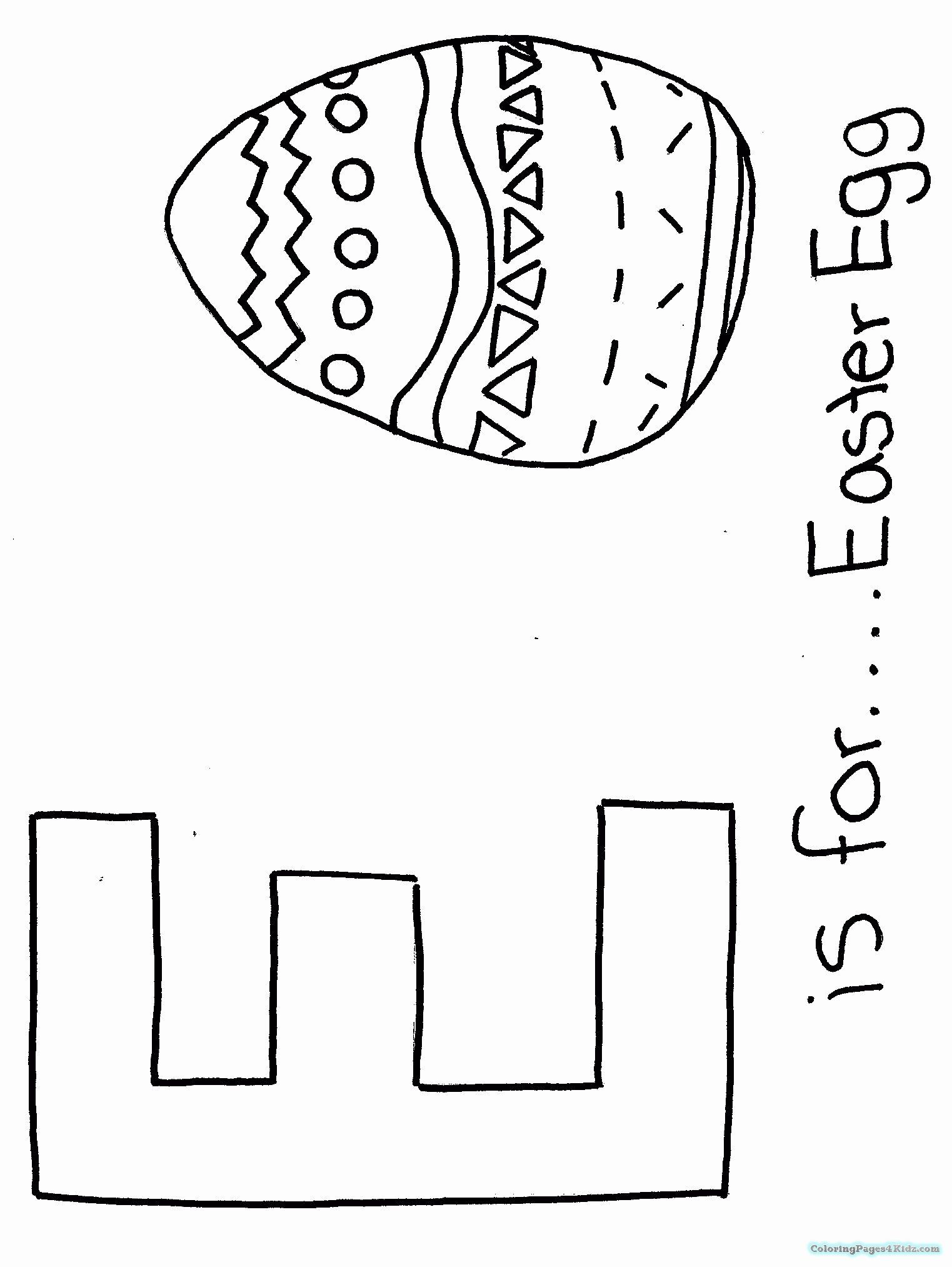Letter E Coloring Sheets In