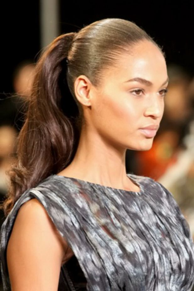 Groovy 1000 Images About Ponytails On Pinterest Black Women Hairstyles For Women Draintrainus