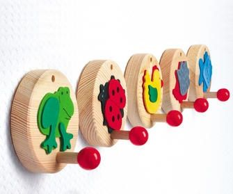 Cute And So Easy For The Kids Pinterest Coat Hooks Plywood