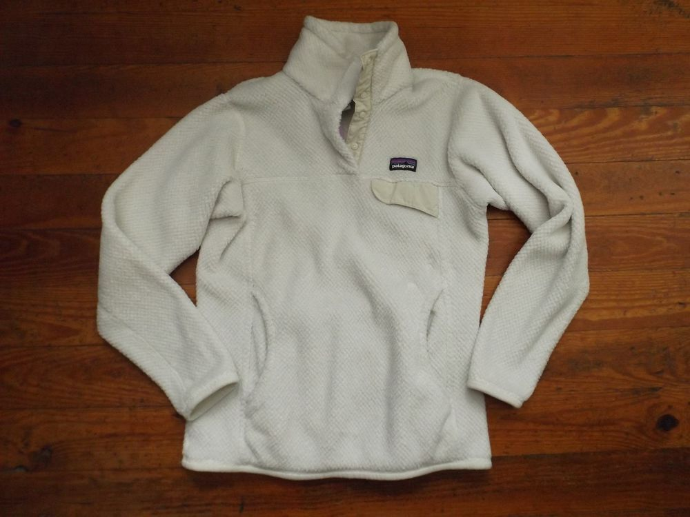 Patagonia Plush Fleece Pullover Retool Beige XS #Patagonia ...