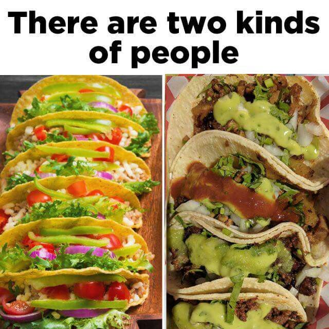 I like corn tortillas and Paul likes the softshells. Tacos were the only  thing that I could cook when we were first married. We ate a lot of tacos!